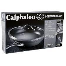 Calphalon Amazon Com Calphalon Contemporary Hard Anodized Aluminum Nonstick
