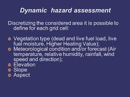 Definition For Wildfire by Risico A System For Wide Nation Wildfire Risk Assessment And