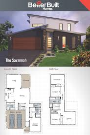 Design Floor Plans by The Savannah Double Storey House Design Betterbuilt Floorplans
