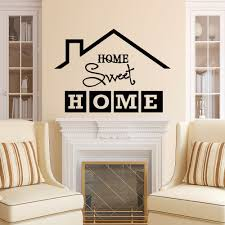 home sweet home wall decal quote home sweet home sign vinyl