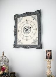 ornate frame to wall clock the navage patch