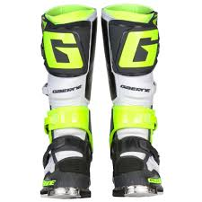 motocross boots gaerne gaerne sg 12 boots white yellow grey sixstar racing