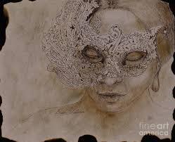 masquerade drawing by enzie shahmiri