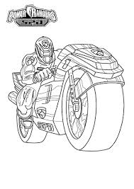 download power rangers motorcycle coloring pages or print power