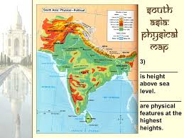 the geography of south asia answer 1 on your worksheet ppt