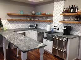 Modern Kitchen Countertops And Backsplash Kitchen Kitchen Utensils Cool Islands Design