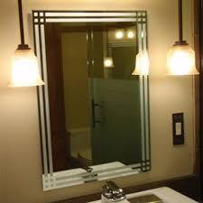 Etched Bathroom Mirror Mirrors Creative Mirror Shower