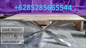 bali wood slab live edge table for sale 6285285665544 youtube