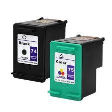 Super Remanufactured Ink Cartridge 74 75 for HP Photosmart C4200 C4280  @JX74