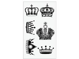 items similar to cool crown tiny tattoo stickers on hand 90s 00s