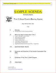 retreat agenda template