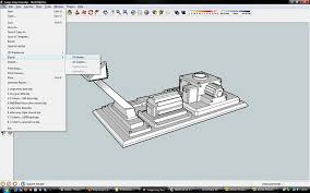 tutorial sketchup modeling stl export tutorial