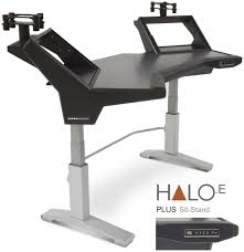 Sit Stand Computer Desk by Argosy Halo E Workstation Plus Sit Stand Sweetwater