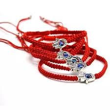bracelet with red string images Kuhong 1pc red string hamsa hand evil eye lucky kabbalah boho webp