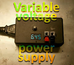 easy variable voltage power supply 6 steps with pictures