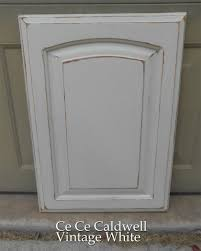 using chalk paint for oak kitchen cabinets test door antiquing