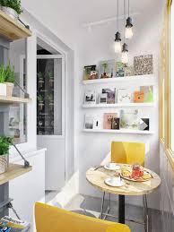 contemporary kitchen with pale orange breakfast nook and corner