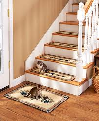 sets of 4 carpeted stair treads or landing rugs ltd commodities