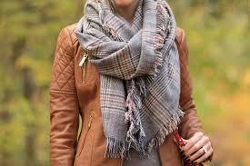 cheap moto jacket leather u0026 plaid camel moto jacket oversized scarf u0026 western boots