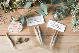 wedding favor de lightful joints and buds weddings ideas from