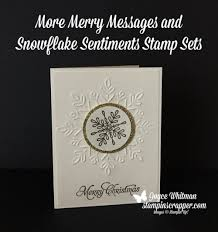 more merry messages snowflake sentiments stin scrapper