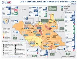 Dart Map South Sudan Complex Emergency Fact Sheet 8 May 25 2017 U S