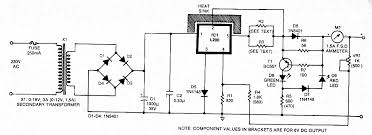 various diagram 6v 12v constant current battery charger circuit