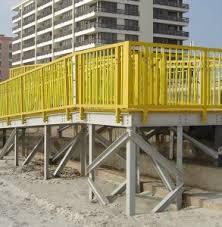 Fiberglass Handrail Aims Fiberglass Reinforced Plastic Leader Frp Viv Strakes
