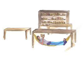 desk hammock by introwizard