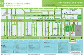 road map of st usvi amalie road map st maps st st