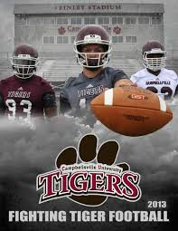 campbellsville 2013 football guide by campbellsville unviersity