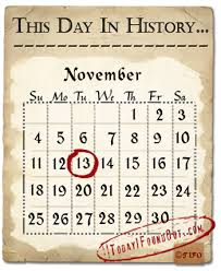 this day in history november 13