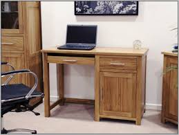 Office Desk With Keyboard Tray Wood Computer Desk For Small Spaces Thedigitalhandshake Furniture