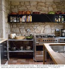 cuisine avec mur en cuisine avec mur en interieur inspiration