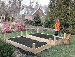 Raised Bed Vegetable Garden Design by Tall Raised Garden Beds The Gardens