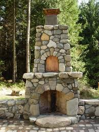 outdoor stone fireplace field stone fireplaces and outdoor stone grills