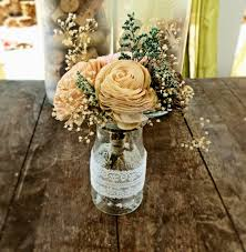 100 rustic center pieces wood vase rustic centerpiece