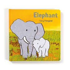 buy elephant board book online at jellycat com