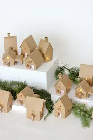 christmas advent paper houses free tutorial and cutting files