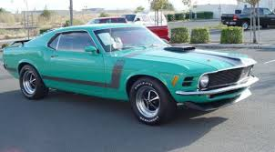 Mustang Black And Green Grabber Green 1970 Boss 302 Ford Mustang Fastback