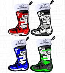 limited edition alpinestars 4pack mini boot ornaments