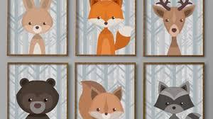 Woodland Decor Nursery Sensational Ideas Baby Boy Wall In Conjunction With 38 Nursery
