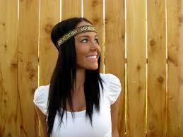hippie hair bands boho hippie chic blue green brown black yellow
