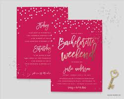 bachelorette party invitation template virtren com