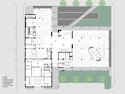 public floor plans cedar rapids public library opn architects archdaily