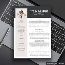 Creative Resumes Templates Free Best 25 Modern Resume Template Ideas On Pinterest Modern Resume