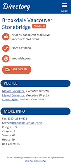 assisted living menu ideas member directory mobile app for smartphone tablet