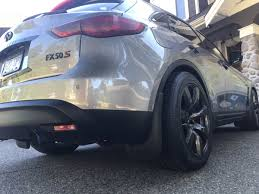 infiniti fx50 lowered qx70 09 all lowered fx owners post pics before and after
