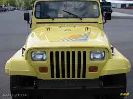 jeep islander yj 1990 malibu yellow jeep wrangler islander 4x4 37423610 photo 3