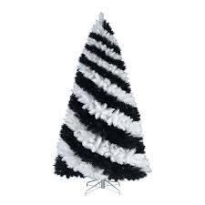 zebra striped tree tree ornament and